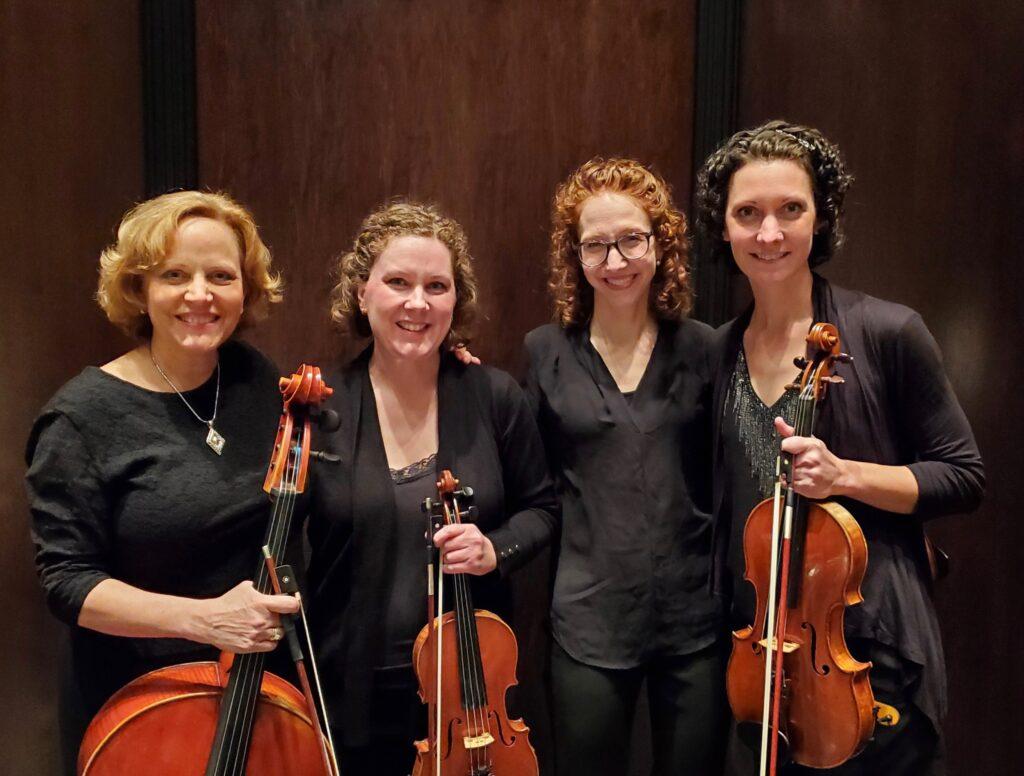 Aurora Musicalis string quartet members